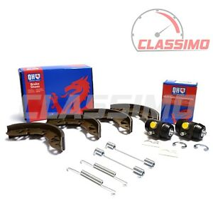 QH Rear Brake Shoes, Fitting Kit & Cylinders for Classic AUSTIN / ROVER MINI