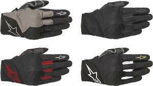Alpinestars Crossland Gloves - Motorcycle Street Riding Textile Touch Screen