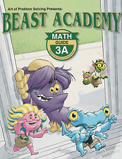 Beast Academy 3A Guide and Practice Books - New