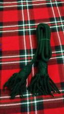 TC NEW BRASS BUGLE WOOL CORD GREEN COLOR/SILVER BUGLE CORD WOOL/ARMY BUGLE CORD