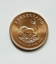 1 Goldmünze, 1 oz Krügerrand von 1983, Südafrika, Gold,Feingold, 1 Unze
