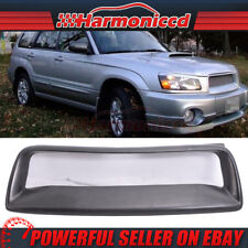 Fits 04-05 Subaru Forester SG Wagon 4Dr DS Front Hood Mesh Grille Grill Guard