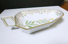 Royal Copenhagen FLORA DANICA #3544 Pickle Dish (LARGE Size) 1st Quality, Mint