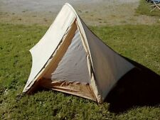 Bill Moss Solet Model Vintage Solo Single Hoop Vintage Tent w/ Fly Complete