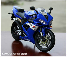 Maisto 1/12th YAMAHA YZF-R1 Diecast Motorcycle Model Collectible Toy Gift Blue