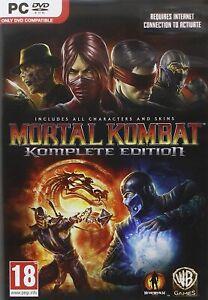 MORTAL KOMBAT KOMPLETE EDITION PC [video game]