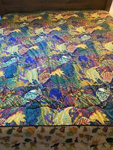 VTG Sheridan Australia Tropical J Kee Abstract Fish Comforter Fitted Sheet KING