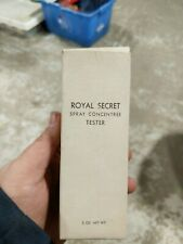 Vtg Germaine Monteil ROYAL SECRET Spray Concentree 2 oz EDP perfume