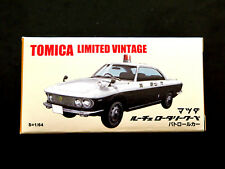 Tomica Limited Vintage Mazda Luce Rotary Coupe Die-cast Police Car, New