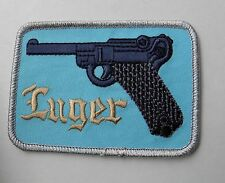 Luger Gun Pistol Embroidered Patch 3.5 x 2.5 inches