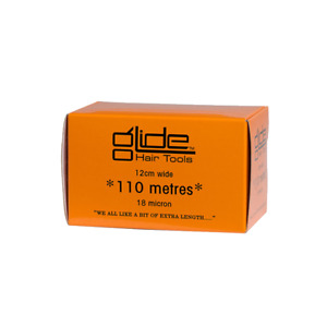 Glide Professional Silver Hairdressing Foil 18Mic 12cm x 110 Metre