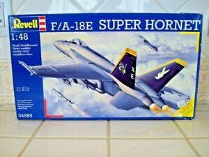 REVELL F/A-18E Super Hornet Model Kit 1/48 Scale