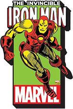 IRON MAN - CHUNKY REFRIGERATOR MAGNET - MARVEL LOGO COMIC AVENGERS 95140 NEW