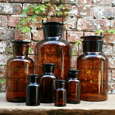 10000ml Apothecary Bottle (Amber, Wide  Mouth)