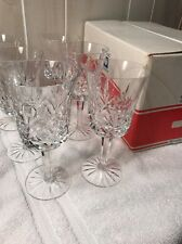 Crystal Astral Questa Goblets 6 Stemware Glasses Box Korea