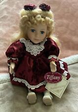 Tiffany Collector's Choice Porcelain Wind-Up Musical Animation Doll Coa Attached