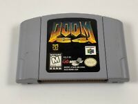 Doom 64 for Nintendo 64 Authentic NTSC Cartridge ID Software Midway
