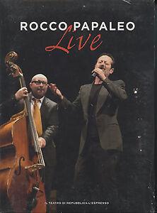 Rocco Papaleo LIVE DVD SIGILLATO
