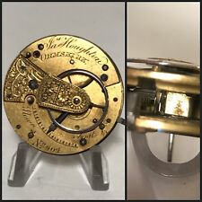 Very Rare Ormskirk Chaffcutter (Clubfoot/debaufre) Fusee Pocket Watch Movement