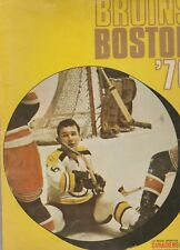 1970 71 Boston Bruins Yearbook Canadiens Sports Magazine Stanley Cup Season ORR