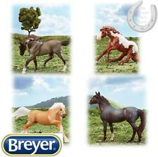 Breyer Stablemates – Wild at Heart – Set of 4 Horses – 1:32 Scale
