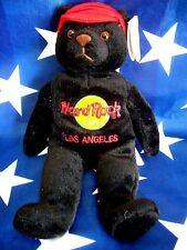 HRC hard rock cafe los angeles Charlie Bear beara oso Teddy made by Herrington