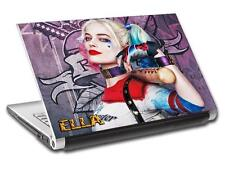 Harley Quinn Joker Personalized LAPTOP Skin Decal Sticker ANY NAME Batman L485