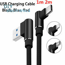 Type-C 3.1/Micro Usb/Ios Right Angle Usb Fast Sync Charging Charger Cable Us