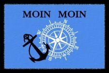 Fußmatte mit Spruch/Motiv Moin Moin Türmatte, Fussabtreter