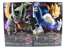 Dragon Ball Z VEGETA & CELL Scultures Figure Colosseum Tenkaichi 5 Banpresto NEW