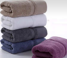 Natural 100% Cotton Adult Thick Super Soft Towels with Strong Water Absorption