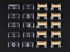 10pcs PCB Circuit Board Mount Glass Tube Fuse Holder with Cover Shield Set Kit