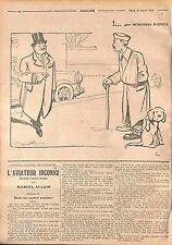 Humour feldgrauen Frantz Invalides de Guerre  Dessin Benjamin Rabier  WWI 1916