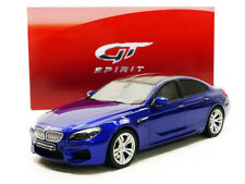 GT Spirit 2012 BMW M6 Gran Coupe Blue Metallic/Gray 1/18 Scale LE of 999 New!