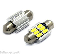 2x -TÜV FREI- 31MM 6 SMD Innenraumbeleuchtung CANBUS LAMPE SOFFITTE 3W CE