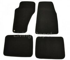 Fit For 99-04 Jeep Grand Cherokee Floor Mats Carpet Front & Rear Nylon Black 4PC