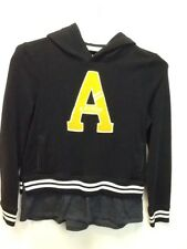 Abercrombie Kids Layered Black/Yellow Sweatshirt Size 15/16