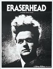 Eraserhead 1977 David Lynch Classic Film Poster 10x8 Inch Reprint