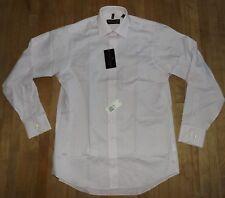 NEW men's DONALD TRUMP SIGNATURE COLLECTION cotton lilac shirt 15.5 x 34/35