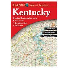 Delorme Kentucky Topographical Road Atlas & Gazetteer