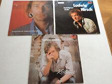 Ludwig Hisch [3x Vinyl LP]  Zartbitter + Dunkelgraue Lieder  + Traurige Indianer