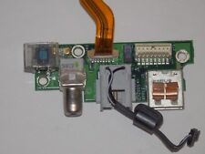 "Apple PowerBook G4 17"" A1139 DC-IN Power Jack USB Board 820-1825-A"
