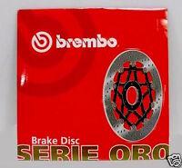 BREMBO DISCO FRENO ANTERIORE SERIE ORO HONDA SR DIO 50 1990 1991 1992 1993