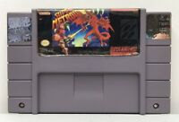 SNES Super Metroid Game Cart *Authentic/Cleaned/Tested* *New Save Battery* #2