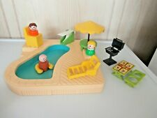 Vintage Fisher Price Little People Swimming Pool