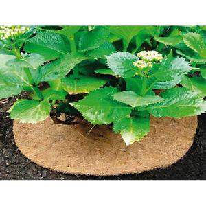 1pc  Coir Mulch Mat Coconut Fiber Liner Plant Cover Tree Weed Plant Flower Pot