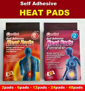 Self Adhesive Heat Pack  Instant  Heat Patches Heat Pads Male Female