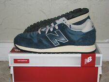 New Balance U520AB Vintage Blue Hairy Suede Mens Size 10 NEW! 576 580 Navy