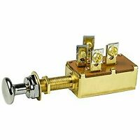 BEP 3 Position SPDT Off/On1&2/On1&3 Push Pull Switch