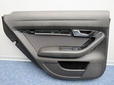 4F0867303F Original Door Panel Rear Left Driver Side Black Audi A6 4F